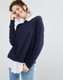 Willow and Paige 2 In 1 Shirt Sweater at asos com at Asos