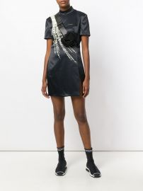 Willow print mini dress by Hyein Seo at Farfetch