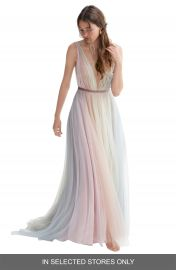 Willowby Hutton Rainbow Tulle A-Line Wedding Dress   Nordstrom at Nordstrom