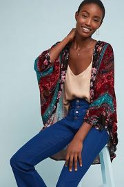 Winchester Floral Kimono at Anthropologie