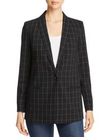 Windowpane-Check Blazer at Bloomingdales