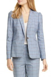Windowpane Twill Jacket by Rebecca Taylor at Nordstrom Rack