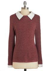Wine Appreciation Sweater at ModCloth