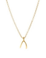 Wishbone necklace at ASOS at Asos