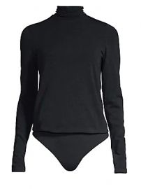 Wolford - Colorado Lax String Turtleneck Thong Bodysuit at Saks Fifth Avenue