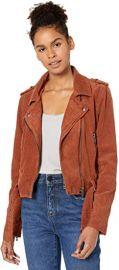 Women\'s Corduroy Moto Jacket Outerwear, Atlas at Amazon