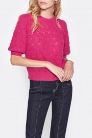 Wool  Cashmere Puff Sleeve Sweater by Joie at Nordstrom Rack