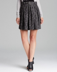 Wool Blend Skater Skirt by Burberry Brit at Bloomingdales