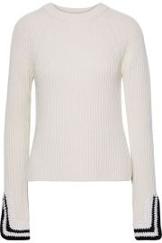 Wool-Blend Sweater by Helmut Lang at The Outnet