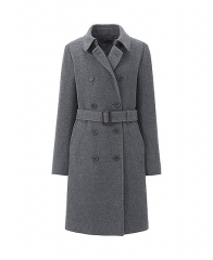 Wool Blended Coat at Uniqlo