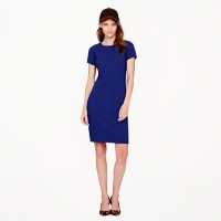 Wool Crepe Dress  at J. Crew