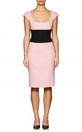 Wool Gabardine Belted Dress by Narciso Rodriguez at Barneys