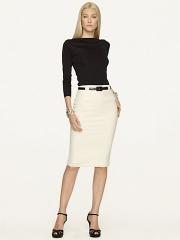 Wool Givanna Skirt at Ralph Lauren
