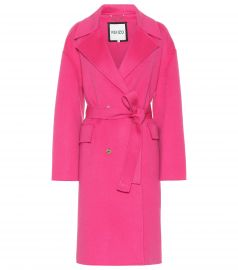 Wool and Cashmere Coat by Kenzo at Mytheresa