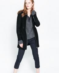 Woollen Coat at Zara