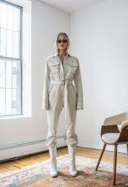 Workwear Jumpsuit Off-White by Orseund Iris at Orseund Iris
