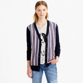 Woven Front Cardigan at J. Crew