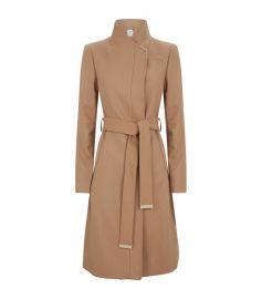 Wrap Belted Ellgenc Coat at Harrods