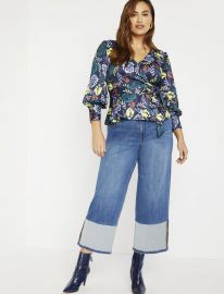 Wrap Front Blouse at Eloquii