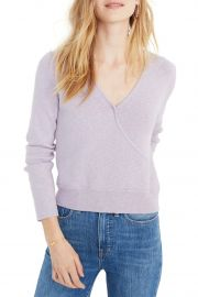 Wrap Front Pullover Sweater at Nordstrom Rack