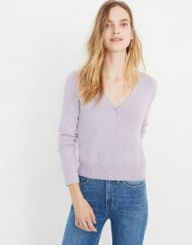 Wrap-Front Pullover Sweater at Madewell