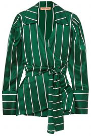 Wrap It Up Striped Shirt by Maggie Marilyn at The Outnet