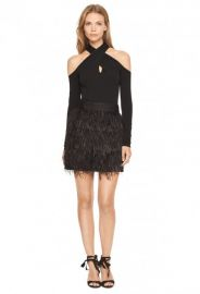 Wrap Keyhole Top at Milly
