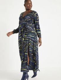 Wrap Maxi Dress at Eloquii
