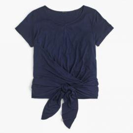 Wrap T-shirt at J. Crew