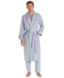 Wrinkle-Resistant Chambray Robe at Brooks Brothers