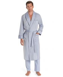 Wrinkle Resistant Chambray Robe at Brooks Brothers