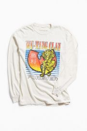 Wu-Tang Clan Tiger Long Sleeve Tee at Urban Outfitters