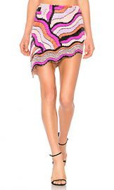 X by NBD Baby Skirt in Rainbow Swirl from Revolve com at Revolve