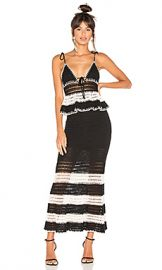 X by NBD Calypso Dress in Black  amp  Ivory from Revolve com at Revolve