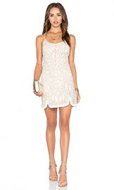 X by NBD Madeline Dress in Ivory from Revolve com at Revolve