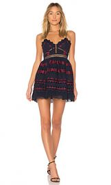 X by NBD Pearl Dress in Navy  amp  Red from Revolve com at Revolve