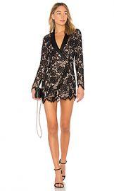 X by NBD x REVOLVE Que Bonita Lace Tux Dress in Black from Revolve com at Revolve