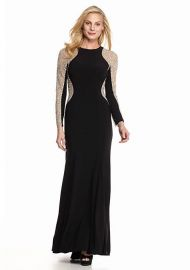 Xscape Bead Embellished Gown at Macys