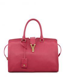 Y Ligne Soft Leather Bag by Saint Laurent at Neiman Marcus