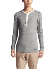 Yamanto Contrast Henley Tee by Diesel at Amazon