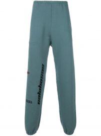 12caea76a WornOnTV  Kim s blue Calabasas logo sweatpants on Keeping Up with ...