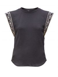Yelani studded sleeveless cotton T-shirt at Matches