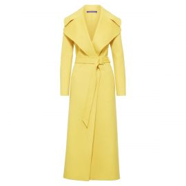 Yellow Long Belted Coat by Ralph Lauren at Ralph Lauren