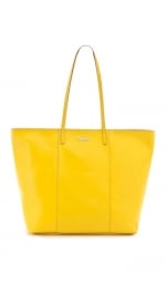 Yellow Rebecca Minkoff tote on PLL at Shopbop