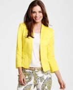 Yellow blazer at Ann Taylor at Annetaylor