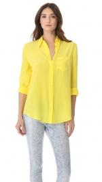 Yellow blouse like Robins at Shopbop