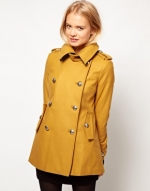 Yellow coat from ASOS at Asos