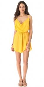 Yellow dress at Shopbop