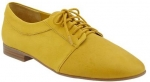 Yellow lace up oxfords from Gap at Gap