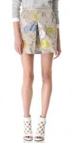 Yellow metallic skirt like Lemons at Shopbop